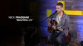 Nick Fradiani - Beautiful Life (Acoustic LITV Party in Arizona)