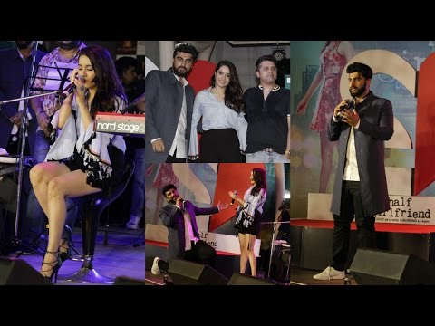 Shraddha Kapoor | Arjun Kapoor | Mohit Suri | At Half Girlfriend Music Cocert