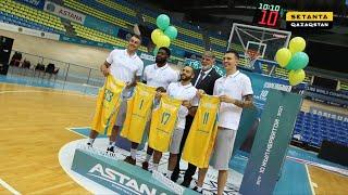 Медиа-день баскетбольного клуба «Астана» в репортаже телеканала «Setanta Qazaqstan»
