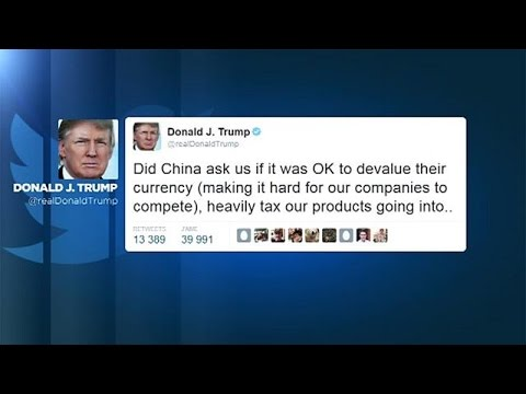 Συνέχεια στο σφυροκόπημα της Κίνας από τον Τραμπ μέσω twitter