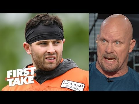 Video: Stone Cold loves Baker Mayfield's charisma and confidence   First Take