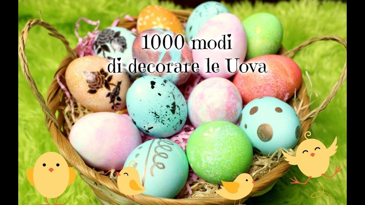 7 modi semplici e creativi per decorare le Uova Pasquali ♥ VIDEOTUTORIAL