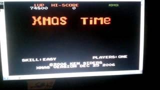 Xmas Time: Hard (Atari 7800 Emulated) by S.BAZ