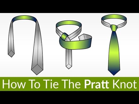 How To Tie The Pratt Knot | Tie Knot That's Been Used For 100 Years | Tying Necktie Tutorial