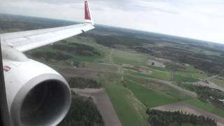 Arlanda Sweden  City new picture : Spectacular Sweden!!! Fantastic HD 737 Landing in Stockholm Arlanda!!!
