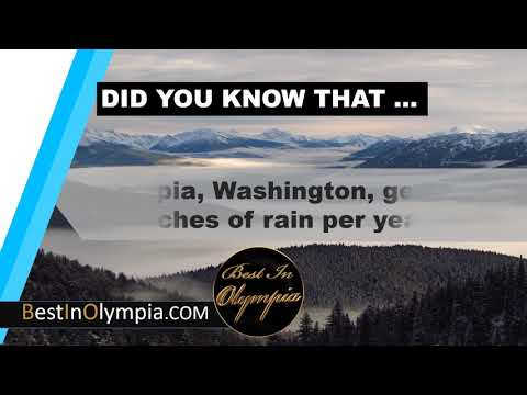 Average Rain in Olympia | Best In Olympia | Olympia WA