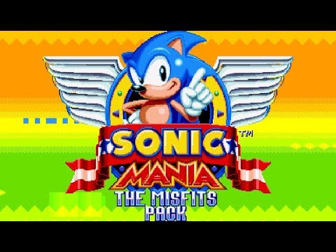 Sonic Mania: The Misfits Pack - SAGE 2018 Demo (видео)
