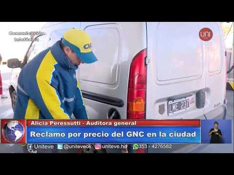 Taxistas reclaman por precio del GNC