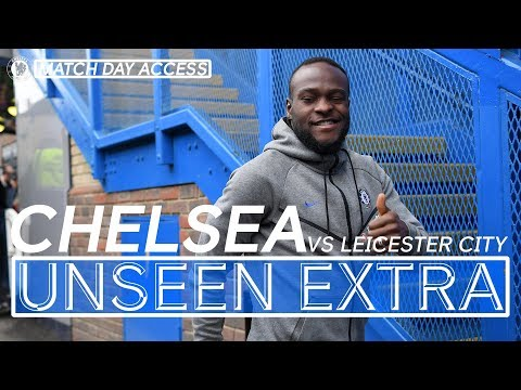 Video: Tunnel Access | Chelsea vs Leicester
