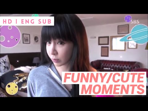PARK BOM - FUNNY & CUTE MOMENTS  (ROOMMATE) HD|ENG SUB