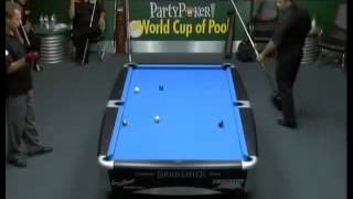 9 Ball World Cup Of Pool 2006 Doubles Reyes And Bustamante Vs Strickland And Morris Final Part5   Yo
