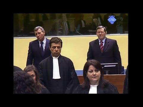 UN war crimes court frees Croatian generals