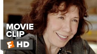 Grandma Movie CLIP - Kiss (2015) - Lily Tomlin, Julie Garner Movie HD