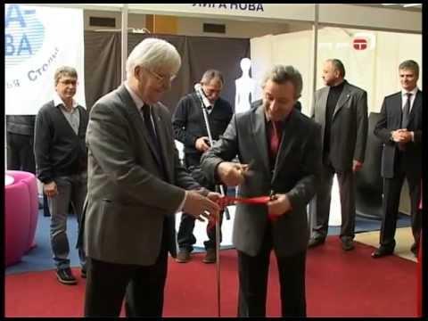 """Телекомпания """"АРТ"""" Выставка строительных материалов, технологий и инженерных систем в Одессе BuildTech 2012 год"""