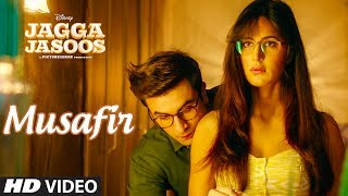 "Presenting the Video song ""Musafir"" from the Bollywood movie Jagga Jasoos. Get it on iTunes - http://bit.ly/Musafir_JaggaJasoos_iTunesAlso, Stream it onHungama - http://bit.ly/Musafir_JaggaJasoos_HungamaSaavn - http://bit.ly/Musafir_JaggaJasoos_SaavnGaana - http://bit.ly/Musafir_JaggaJasoos_GaanaApple Music - http://bit.ly/Musafir_JaggaJasoos_AppleMusicGoogle Play - http://bit.ly/Musafir_JaggaJasoos_GooglePlayFor  Caller Tunes:Musafir http://bit.ly/2ukuyDPHo Duwaye - Musafir http://bit.ly/2tUd0O3Set as Caller Tune:Set ""Musafir"" as your caller tune - sms JAJA11 To 54646Set ""Ho Duwaye - Musafir"" as your caller tune - sms JAJA12 To 54646________________________________________Operator Codes: 1.MusafirVodafone Subscribers Dial 5379683096Airtel Subscribers Dial 5432116293368Reliance Subscribers SMS CT 9683096 to 51234Idea Subscribers Dial 567899683096Tata DoCoMo Subscribers dial 5432119683096Aircel Subscribers sms DT 6716928  To 53000BSNL (South / East) Subscribers sms BT 9683096 To 56700BSNL (North / West) Subscribers sms BT 6716928 To 56700Virgin Subscribers sms TT 9683096 To 58475MTS Subscribers  sms CT 6716491 to 55777Telenor Subscribers dial 50019683096MTNL Subscribers sms PT 9683096 To 567892.Ho Duwaye - MusafirVodafone Subscribers Dial 5379683097Airtel Subscribers Dial 5432116293411Reliance Subscribers SMS CT 9683097 to 51234Idea Subscribers Dial 567899683097Tata DoCoMo Subscribers dial 5432119683097Aircel Subscribers sms DT 6716927  To 53000BSNL (South / East) Subscribers sms BT 9683097 To 56700BSNL (North / West) Subscribers sms BT 6716927 To 56700Virgin Subscribers sms TT 9683097 To 58475MTS Subscribers  sms CT 6716490 to 55777Telenor Subscribers dial 50019683097MTNL Subscribers sms PT 9683097 To 56789Song - MusafirSinger - Tushar JoshiLyricist - Amitabh Bhattacharya Music - PritamMusic Label- T-Series ___Enjoy & stay connected with us!► Subscribe to T-Series: http://bit.ly/TSeriesYouTube► Like us on Facebook: https://www.facebook.com/tseriesmusic► Follow us on Twitter: https://twitter.com/tseries► Follow us on Instagram: http://bit.ly/InstagramTseries"