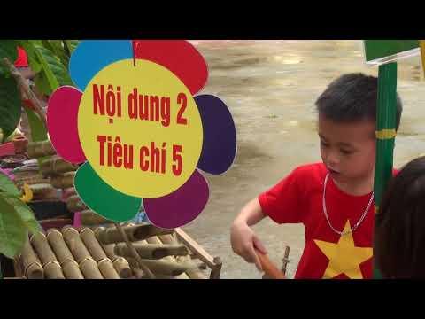 Xây dựng môi trường giáo dục lấy trẻ làm tung tâm ở trường mầm non Nghĩa Thái - Tân Kỳ - Nghệ An