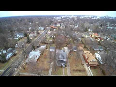 Rountree neighborhood Springfield Missouri Yuneec Q500+ 4K typhoon drone