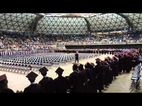 Killeen High School Class of 2014 singing Alma Mater at graduation 6-7-2014