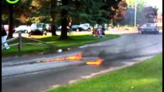 Best Car Burnout EVER! - YouTube