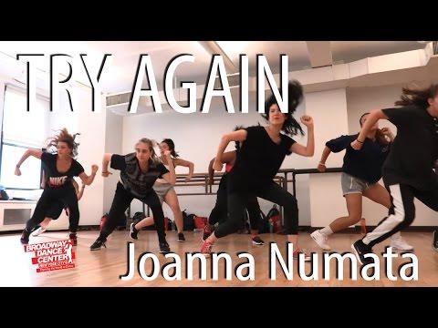 TRY AGAIN - Aaliyah | Choreography by Joanna Numata | #bdcnyc