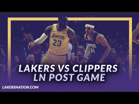 Video: Lakers Discusion: Lakers Beat the Clippers, LeBron James Returns and Plays 40 mins