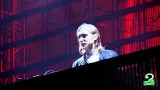 David Guetta - Sweat - Snoop Dogg -  live conciert Valencia Agora - F1 Rocks 2011