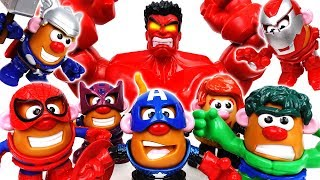 Video Mr. & Mrs. Potato Are In Danger~! Go Potato Heads Avengers - ToyMart TV MP3, 3GP, MP4, WEBM, AVI, FLV Oktober 2018