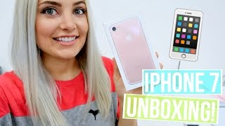 ROSE GOLD IPHONE 7 UNBOXING & REVIEW! by Aspyn + Parker