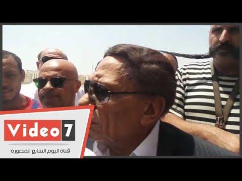 عادل إمام: تم تأجيل حفل زفاف ابني محمد حزنا على رحيل نور الشريف