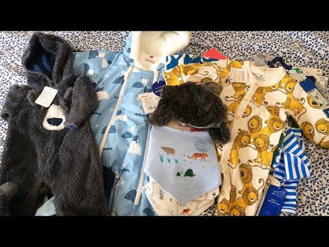 Первая одежда малыша| ПОКУПКИ ДЛЯ НОВОРОЖДЕННОГО: Mothercare, Next, Детский мир, ИКЕА