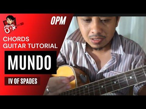 MUNDO – Chords Guitar Tutorial – IV of Spades Music