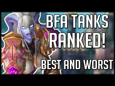 BFA TANKS RANKED - Best Overall, Best Sustain, Most Fun | WoW Battle For Azeroth