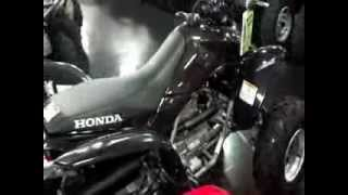 9. 2012 Honda TRX250X ATV SALE at Honda of Chattanooga in TN - Walk Around Video