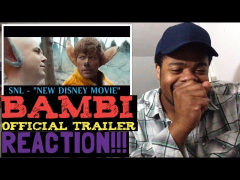 Bambi Official Trailer [SNL SKIT] Reaction!!!