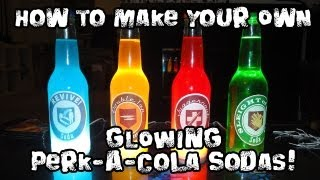 Video How to Make Your Own GLOWING Perk-A-Cola Sodas! MP3, 3GP, MP4, WEBM, AVI, FLV Mei 2019