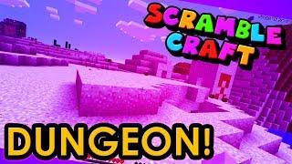 I FOUND MYSELF A DESERT DUNGEON!? - Scramble Craft (Minecraft)