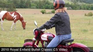 9. MotoUSA 2010 Royal Enfield Bullet Classic C5 Review
