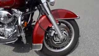 4. 2006 Harley-Davidson FLHT Electra Glide in Sun Red