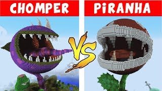 Video CHOMPER vs PIRANHA PLANT – PvZ vs Minecraft vs Smash MP3, 3GP, MP4, WEBM, AVI, FLV Juni 2019