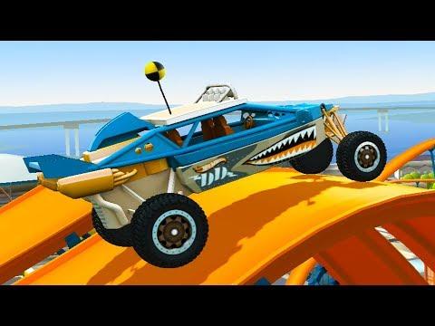 МАШИНКИ ХОТ ВИЛС #6 Гонки на машинках Hot Wheels Race Off - мультик игра для детей #МК