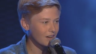Bart sings 'All Of Me' by John Legend - The Voice Kids 2015 - The Blind Auditions