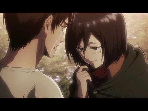 Mikasa Confesses To Eren & Eren Uses The Coordinate!   Attack on Titan Season 2