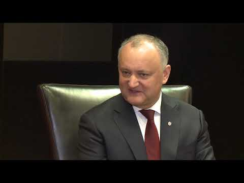 Președintele Republicii Moldova a avut o întrevedere cu prim-ministrul Republicii Bulgaria
