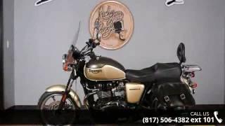 5. 2012 Triumph Bonneville SE Two-Tones  - Lucky Penny Cycle...