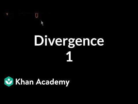 Divergence 1   Multivariable Calculus   Khan Academy