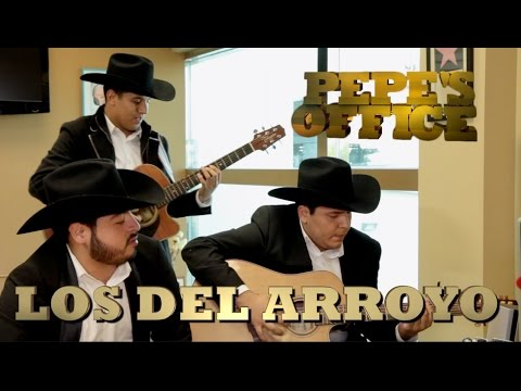 LOS DEL ARROYO LLEGAN A PEPE'S OFFICE - Thumbnail
