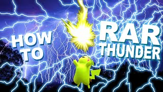 RAR Thunder Tutorial (With Hand-Cam!) [ESAM]
