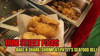 Bake & Shark/Shrimp at Patsy's in Maracas!