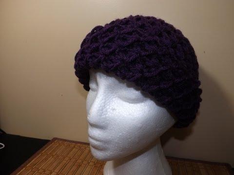 GORRO - Mi pagina de Fb, https://www.facebook.com/Rubystedman1?ref_type=bookmark Bernat Premium Orquidea. aguja de crochet 5.5mm.