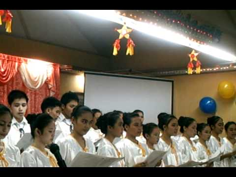 HPIM - mostly sung by yp_hpim singers .. :)) be particular of the voice not on the video .. :D ahehe.